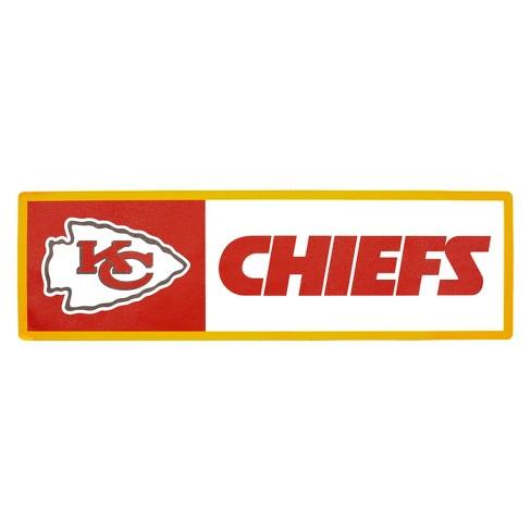 NFL Kansas City Chiefs Outdoor Step Decal   Target b415d966e