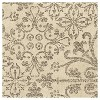 "Cream Abstract Woven Area Rug - (5'3""X7'6"") - Orian - image 2 of 4"