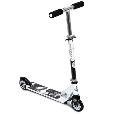 Huffy 78878 Star Wars First Order Stormtrooper Kids Folding Inline Foot Kick Scooter with Adjustable Handlebars