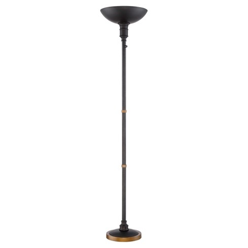 Floor BulbLite Light Torchiere Lamp Dark Bronzeincludes Source Efficient Malibu Led Energy 3jScq54ARL