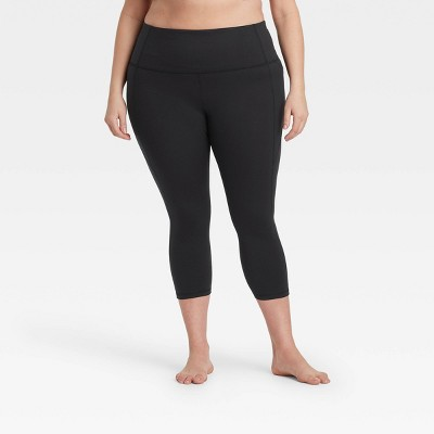Women's Plus Size Contour High-Waisted Capri Leggings - All in Motion™