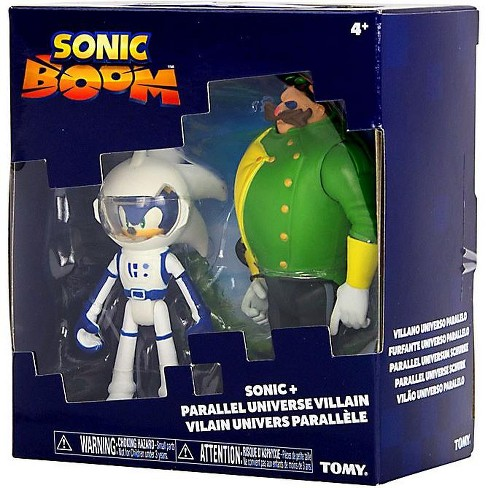 Sonic The Hedgehog Sonic Boom Spacesuit Sonic And Parallel Universe Villain Dr Eggman Action Figure 2 Pack Target
