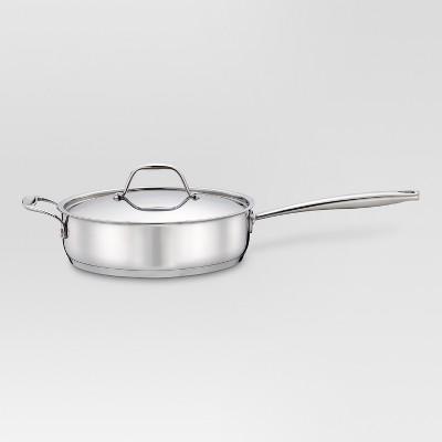 3 qt Stainless Steel Saute Pan - Threshold™