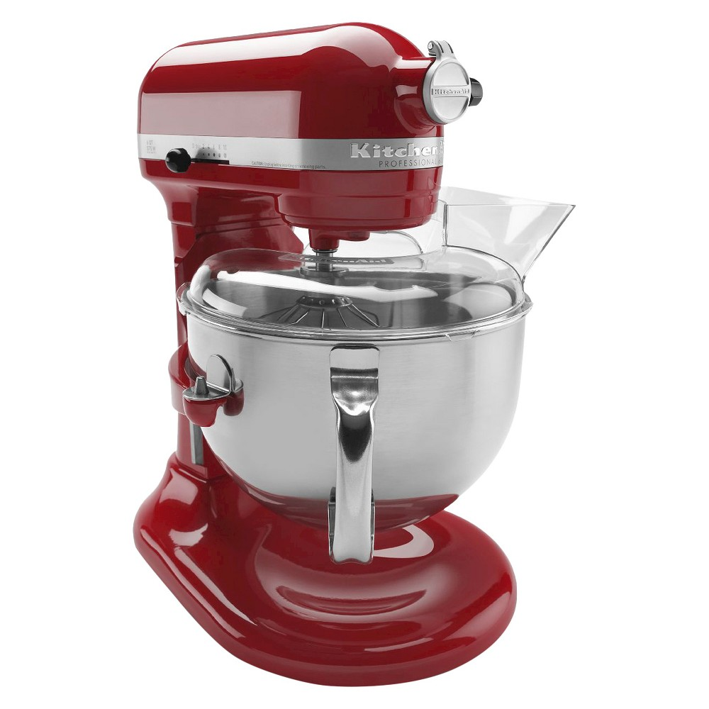 KitchenAid Professional 600 Series 6-Quart Bowl-Lift Stand Mixer – KP26M1X, Empire Red 10575649