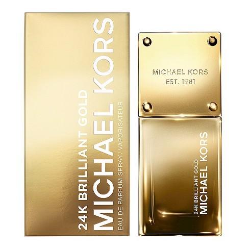 24k gold by michael kors eau de parfum women s perfume 1 0 fl oz