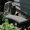 """Emsco 34"""" Resin Garden Bench Statuary - image 3 of 4"""