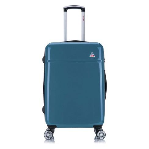 "InUSA Avila 24"" Hardside Spinner Suitcase - Navy Blue - image 1 of 4"