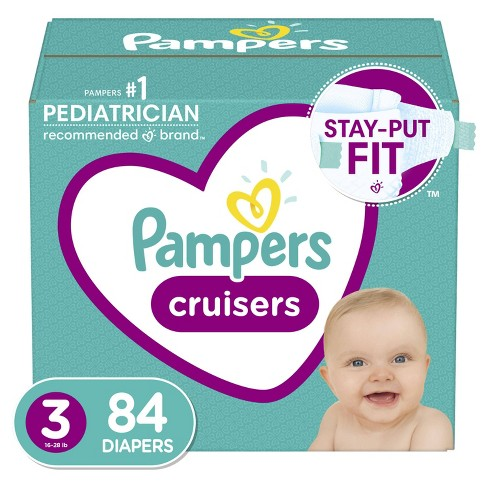 Pampers Cruisers Diapers - (Select Size and Count) - image 1 of 4