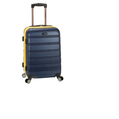 """Rockland Melbourne Expandable ABS Suitcase - Navy (20"""") - image 1 of 2"""