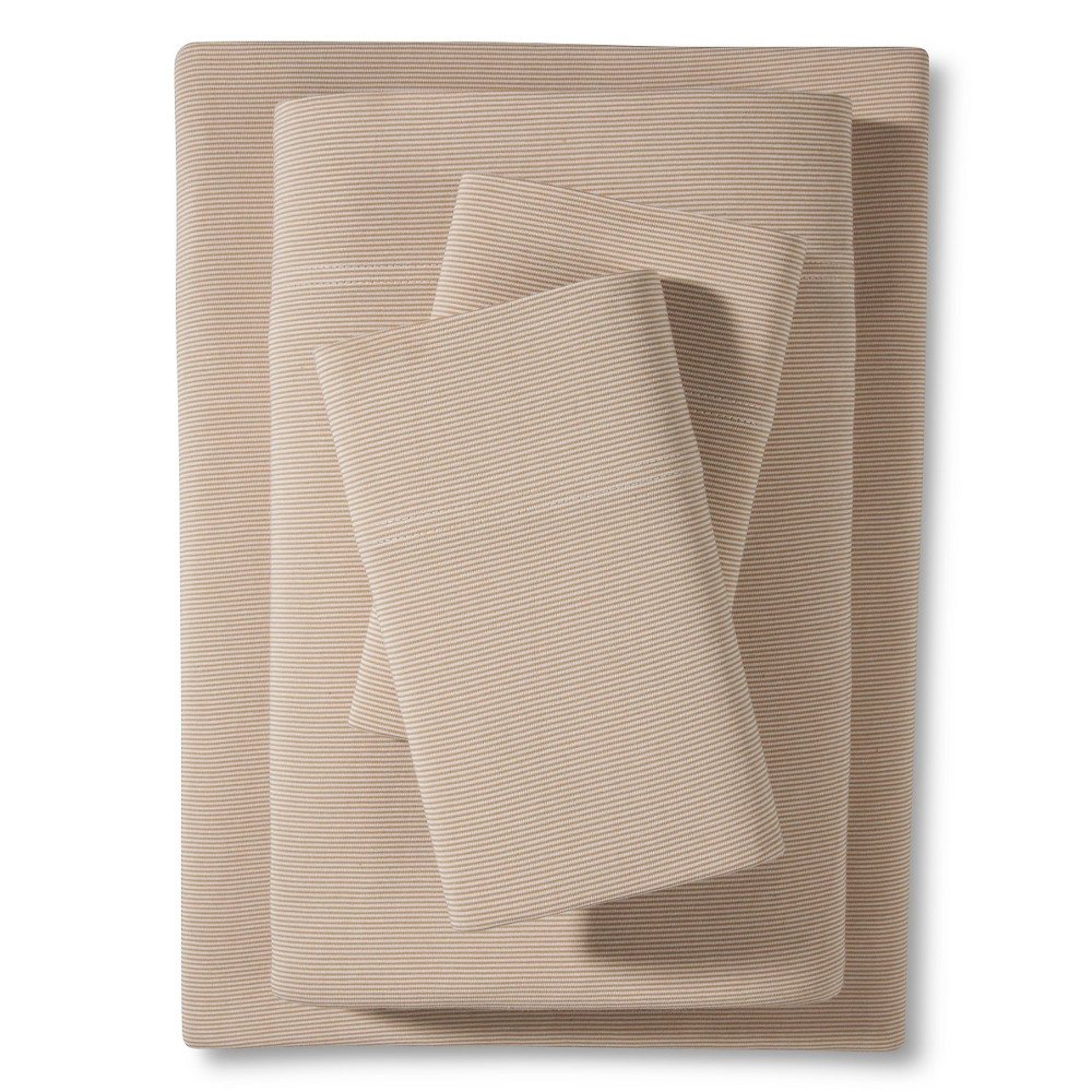 Jersey Sheet Set (Twin XL) Tan - Room Essentials