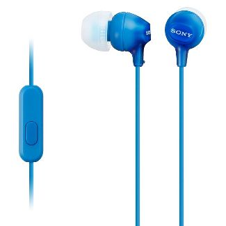 Sony Fashionable Wired Headset for Smartphones - Blue
