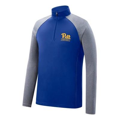 NCAA Pitt Panthers Men's 1/4 Zip Pullover Sweatshirt