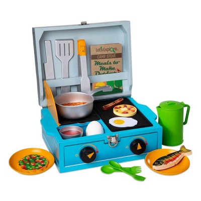 Melissa & Doug Let's Explore Camp Stove Play Set