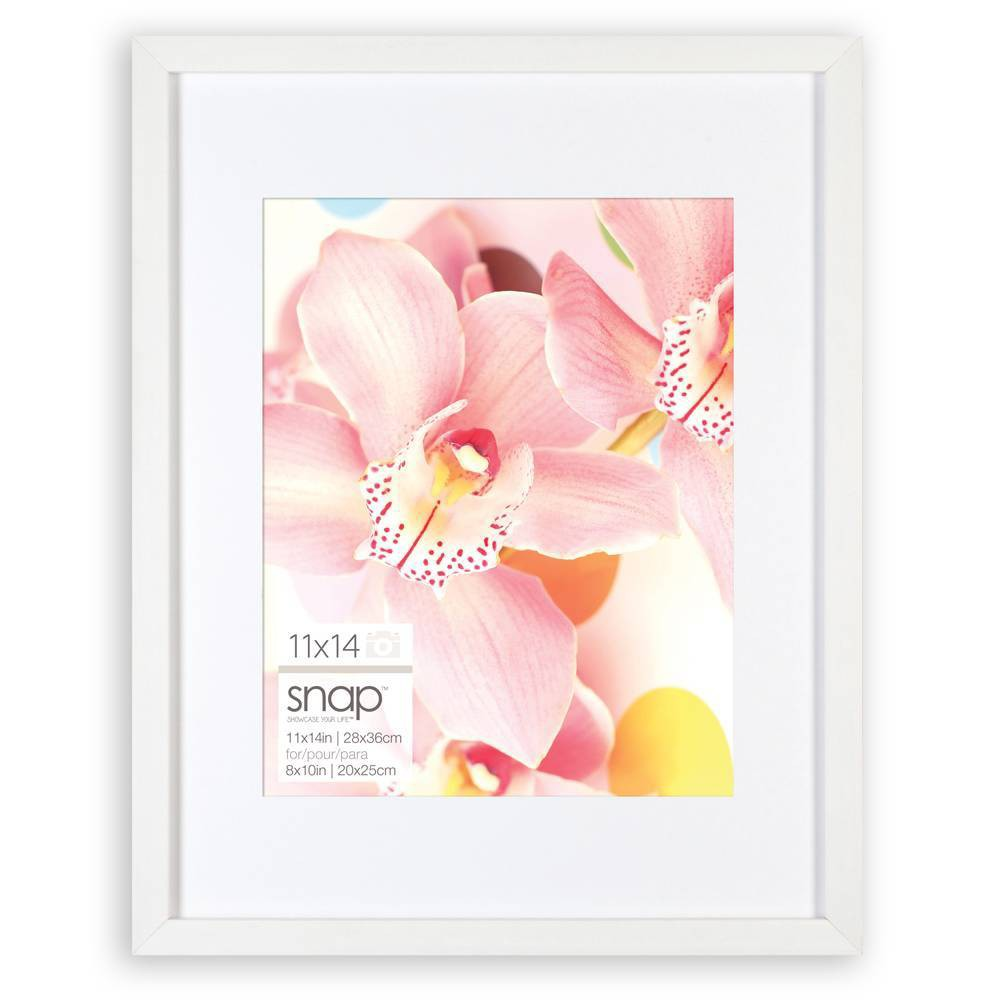 "Image of ""11"""" x 14"""" Frame White - Snap"""