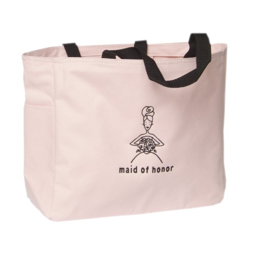 Maid of Honor Wedding Gift Tote Bag - Pink, Women's, Size: Small