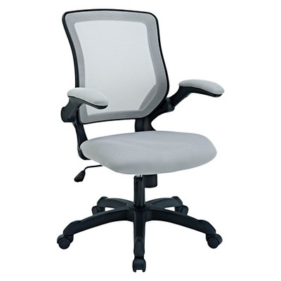 Office Chair Modway Armor Gray