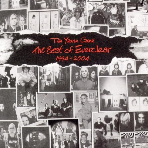 Everclear - Ten years gone:The best of everclear (CD) - image 1 of 1