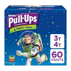 Huggies Pull-Ups Night Time Training Pants For Boys - Super Pack (Select Size)