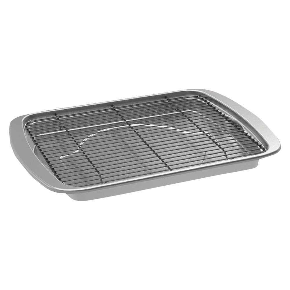 Image of Nordic Ware Oven Bacon Pan, Silver