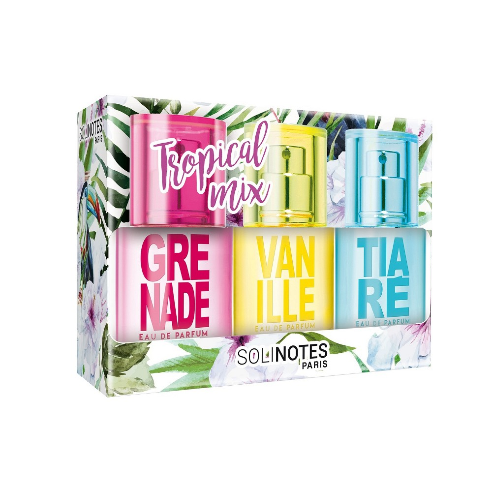 Image of Solinotes Tropical Mix Perfume Gift Set