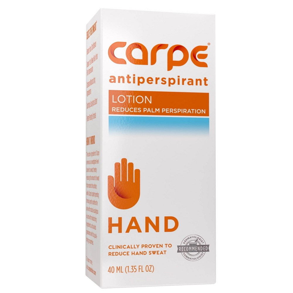 Image of Carpe Antiperspirant Hand Lotion - 1.35 fl oz