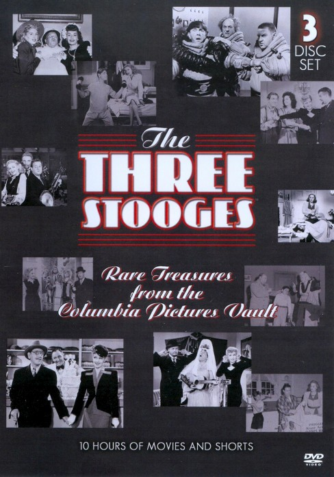 3 stooges (Rare treasures from the co (DVD) - image 1 of 1