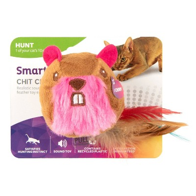 SmartyKat Chit Chatter Electronic Sound Cat Toy