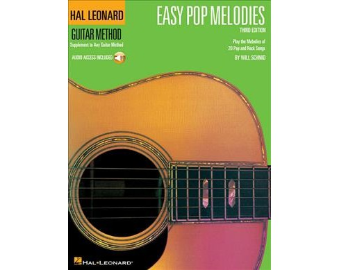 Easy Pop Melodies (Paperback) - image 1 of 1