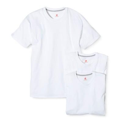 6350990f6afc Hanes® Mens 3pk ComfortBlend Crew Neck Undershirts – White XL ...