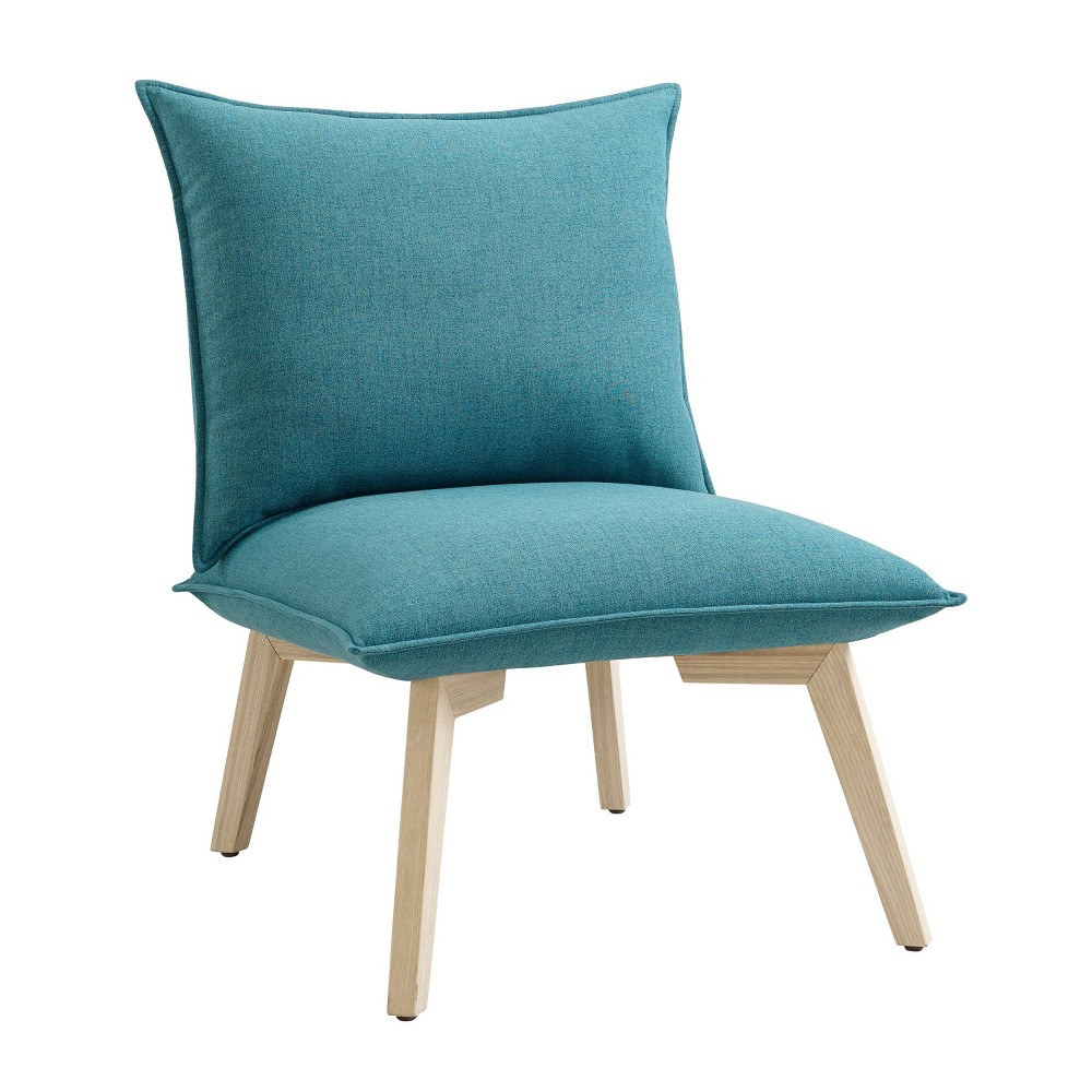 Cason Pillow Chair Blue - Linon Cason Pillow Chair Blue - Linon Gender: Unisex. Pattern: Solid.