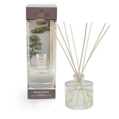 4.5oz Oil Diffuser Hinoki Bonsai - Home Scents By Chesapeake Bay Candle