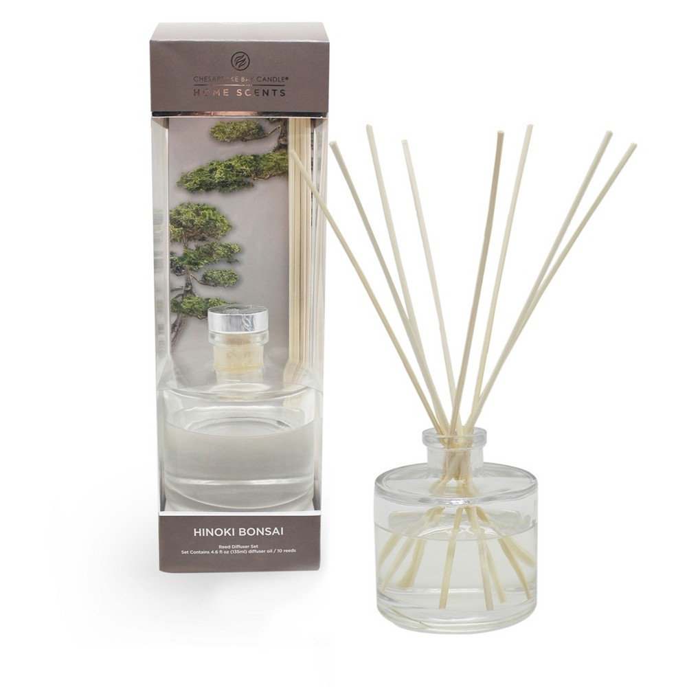 4.5oz Oil Diffuser Hinoki Bonsai - Home Scents By Chesapeake Bay Candle, Brown