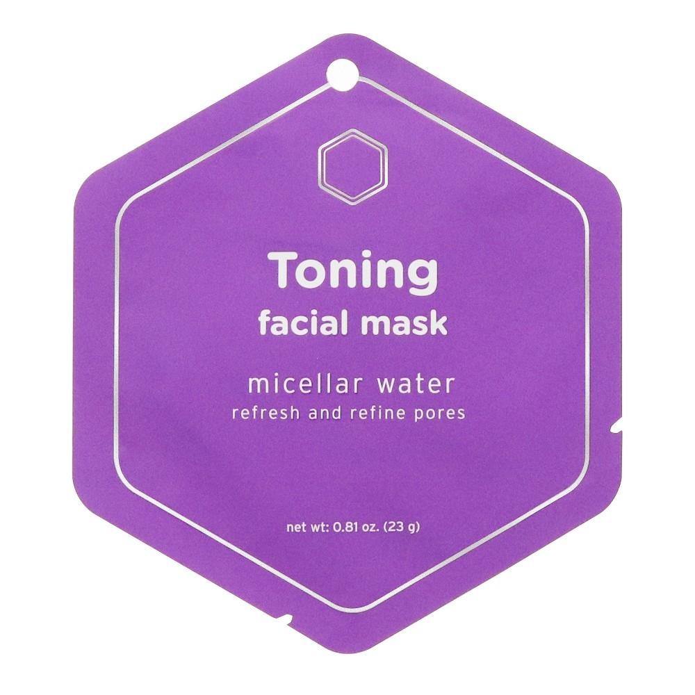 My Spa Life Miceller Water Toning Facial Mask - 0.81oz