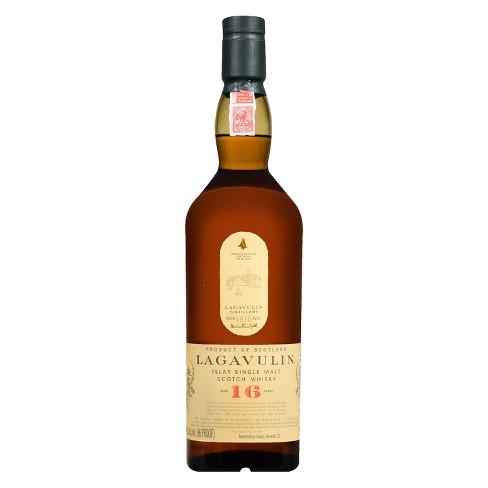 Lagavulin 16yr Islay Single Malt Scotch Whisky - 750ml Bottle - image 1 of 3