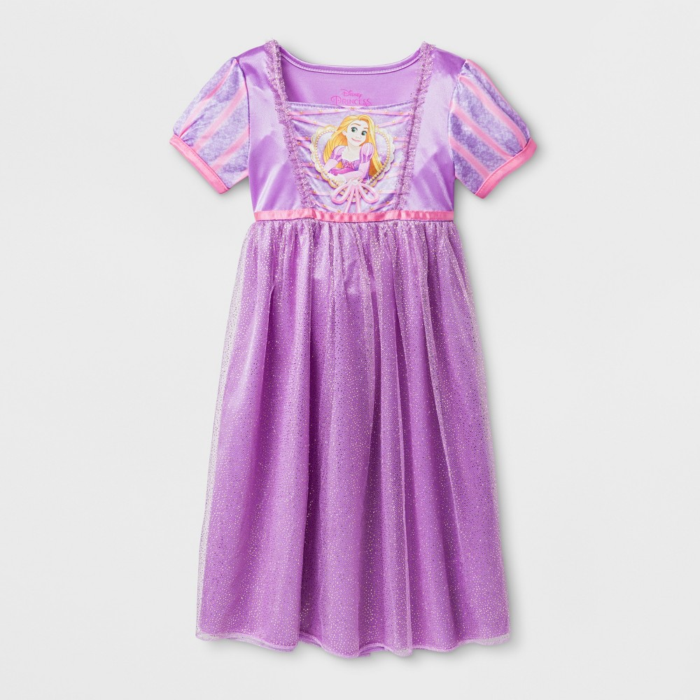 Toddler Girls' Disney Princess Nightgown - Purple 5T