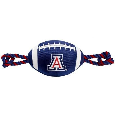 NCAA Arizona Wildcats Nylon Football Dog Toy