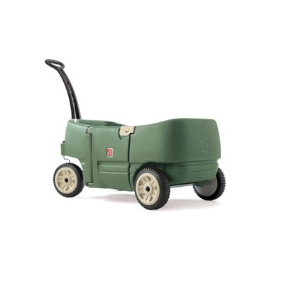 Step2 2 Seater Wagon - Willow Green