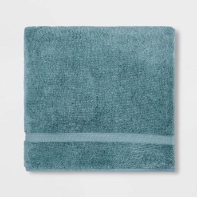 Soft Solid Bath Sheet Dusty Jade - Opalhouse™