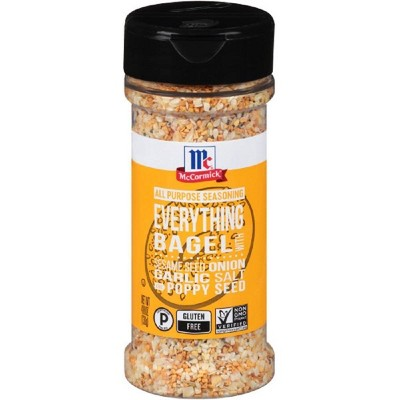 McCormick Gluten Free All Purpose Everything Bagel Seasoning - 4.8oz