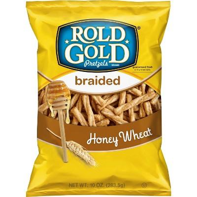 Rold Gold Braided Honey Wheat Pretzels - 10 Oz