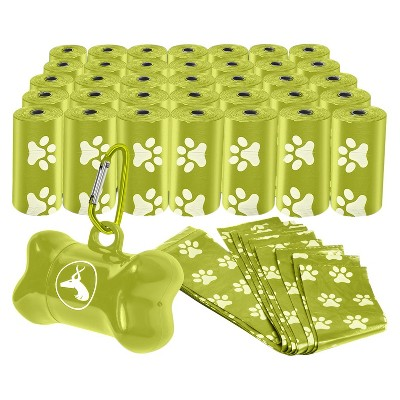 Paws & Pals Pet Waste Disposal Bags - Green