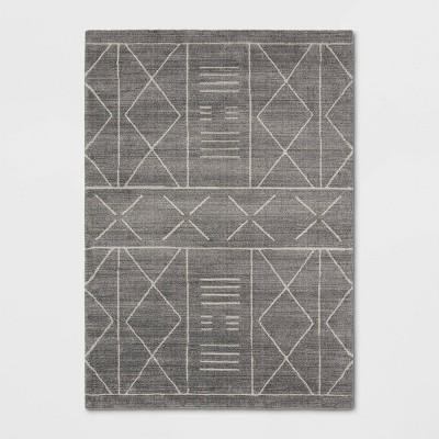 "5'1""x6'9"" Marina Modern Geometric Rug Gray - Project 62™"