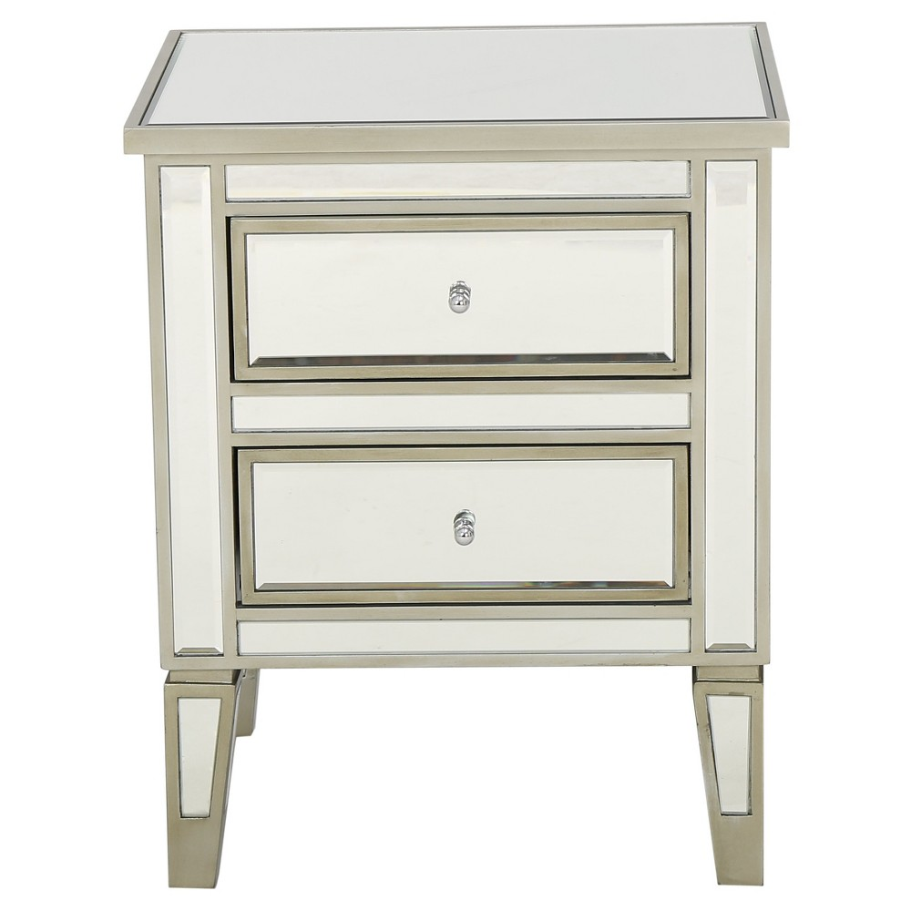 Crawford End Table Champagne (Beige) - Christopher Knight Home