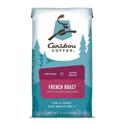 Caribou Coffee French Dark Roast Ground Coffee - 12oz