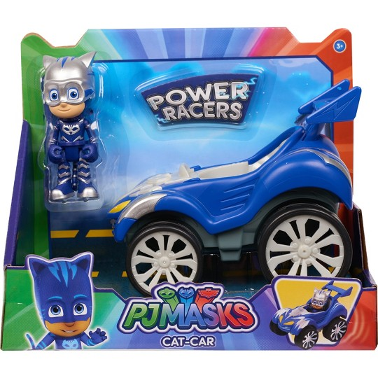 PJ Masks Power Racers Toy Vehicle - Catboy image number null