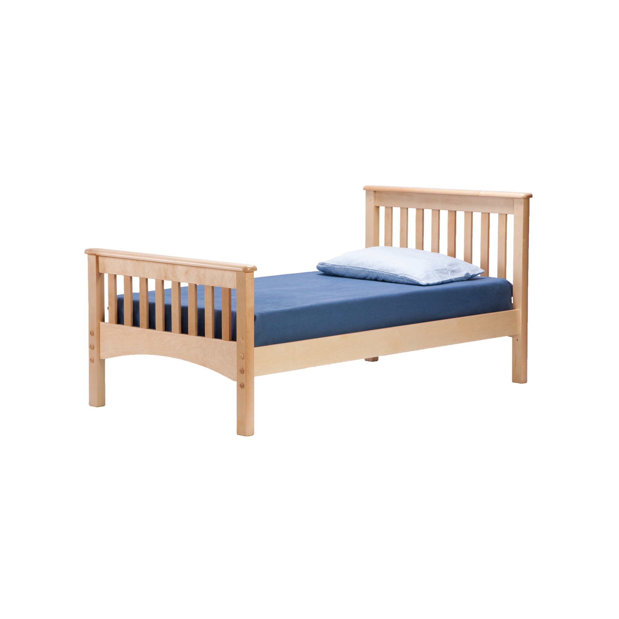 Mission Full Bed Natural - Bolton Furniture