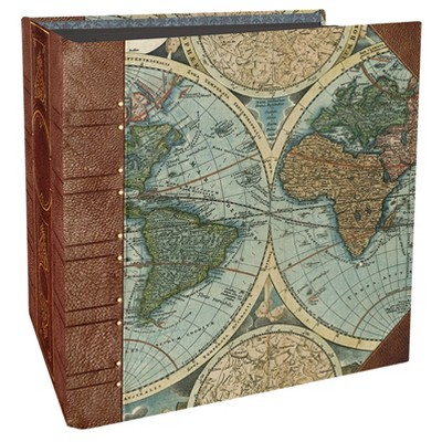 Paper House® Book-Bound Scrapbook - Old World
