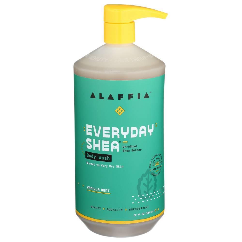 Image of Alaffia Vanilla Mint Shea Butter & Neem Body Wash - 32 fl oz