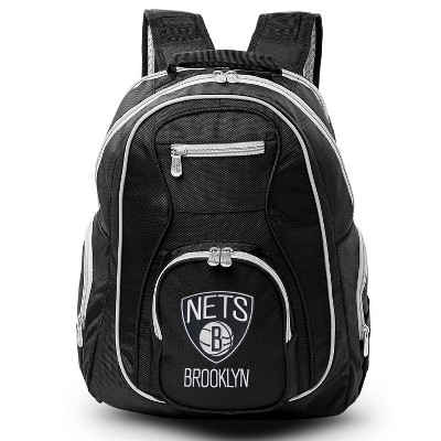 NBA Brooklyn Nets Colored Trim Laptop Backpack