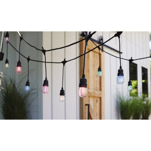 24ct Color Changing Led Shatterproof Outdoor String Lights With Remote Threshold Target